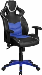 Blue executive swivel chair