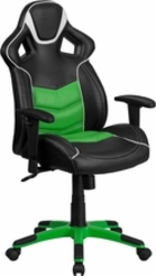 Green executive swivel chair