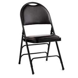 black memory foam chair