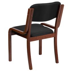 Walnut chair back