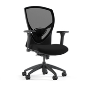 Black Ergo Task Chair